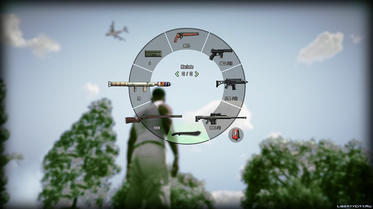 Файл Colored 3D Weapon + Radio Icons 5.0 для GTA 5