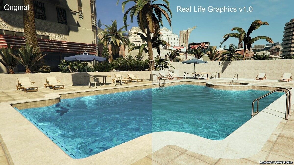 Real Life Graphics 1.0 для GTA 5 - Картинка #3