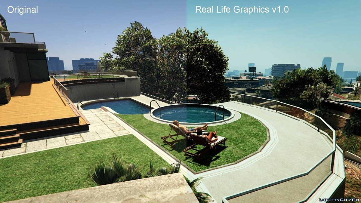 Real Life Graphics 1.0 для GTA 5 - Картинка #10
