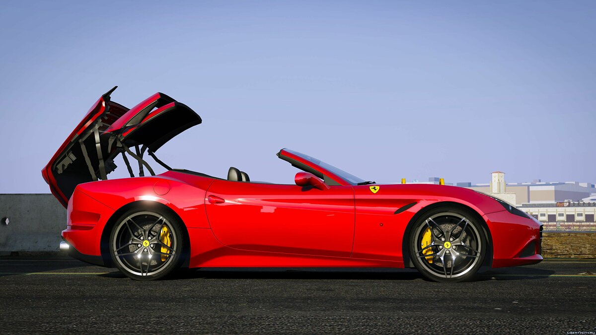 Машина Ferrari 2015 Ferrari California T [Automatic Convertible] 1.1 для GTA 5