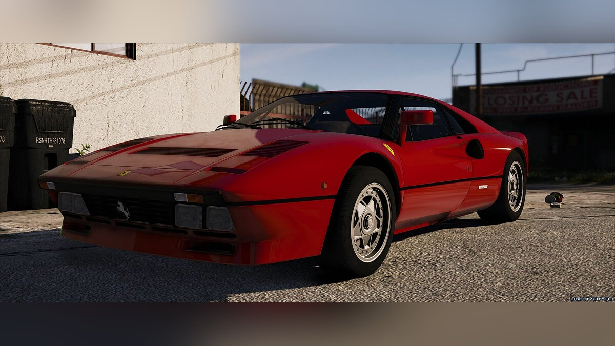 Машина Ferrari 1984 Ferrari 288 GTO [Add-On] 1.1 для GTA 5
