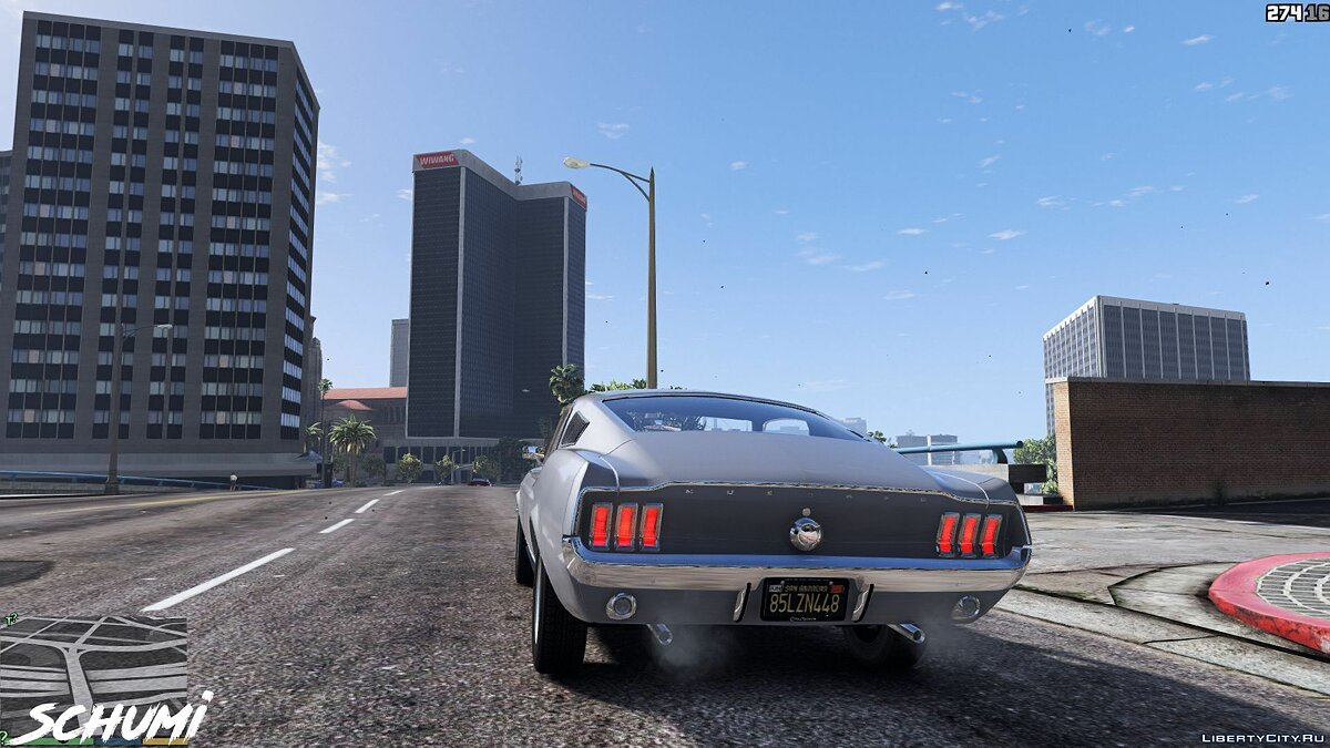Машина Ford Ford Mustang 1967 [Replace] 1.1 для GTA 5