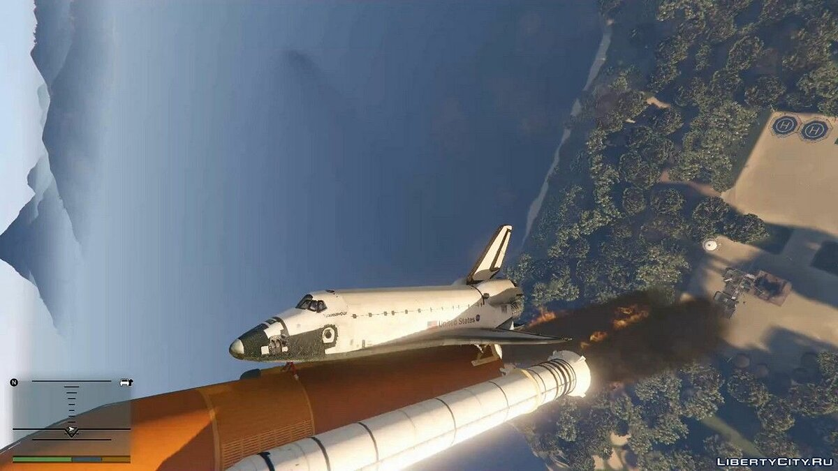 ENB мод Grand Theft Space [.NET] 1.0 для GTA 5