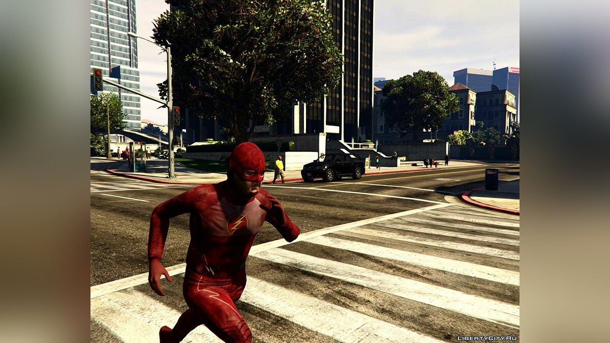 The Flash Suit (series) для GTA 5 - Картинка #1