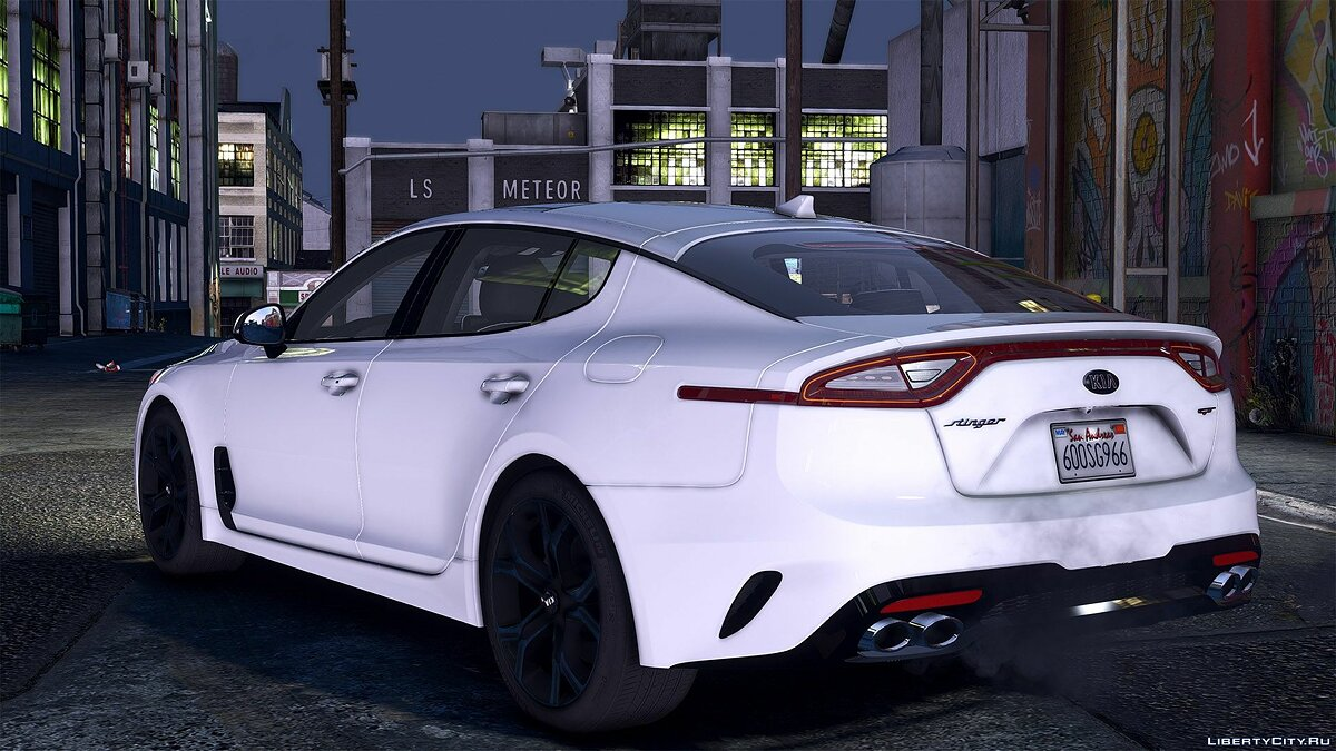 Машина Kia 2018 Kia Stinger GT [Add-On (OIV) / Replace / Tuning / Analog-Digital Dials / Animated / Template] v1.2 для GTA 5