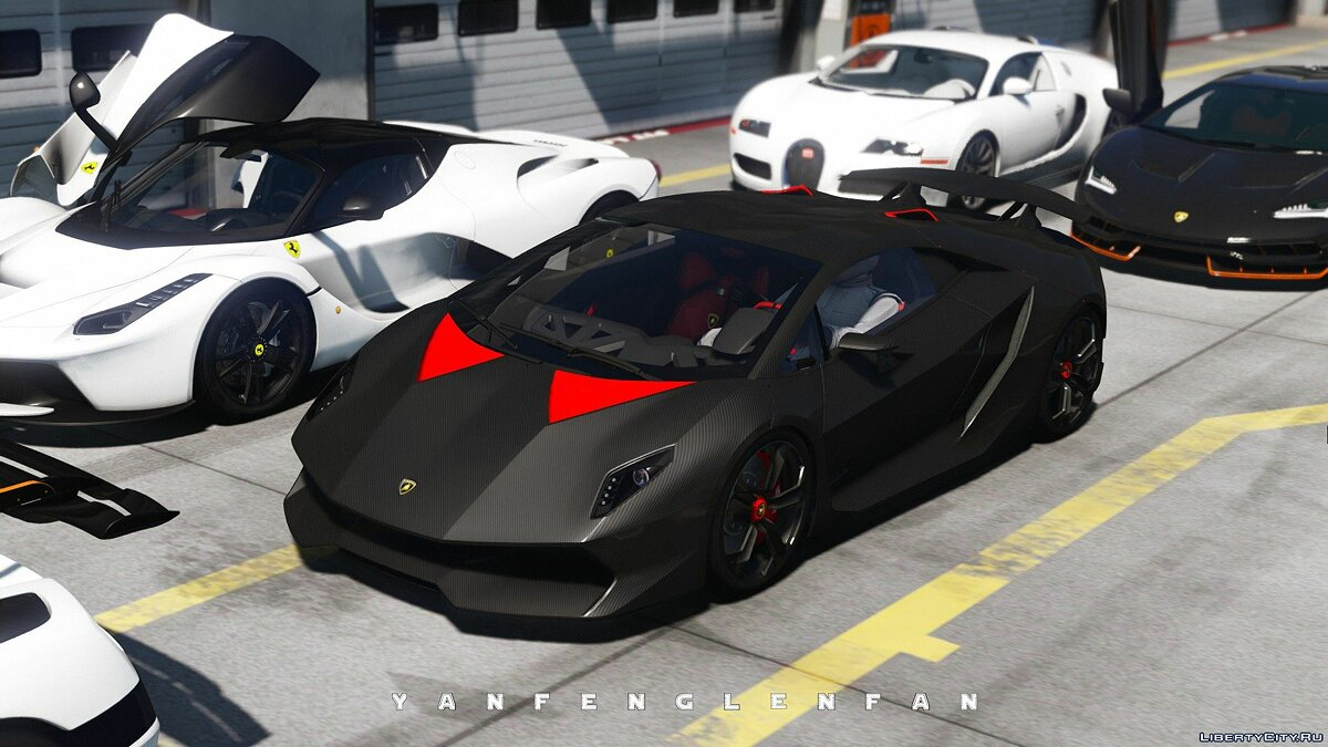 Машина Lamborghini Lamborghini Sesto Elemento [Add-On | Digital gear | HQ] 2.0 для GTA 5