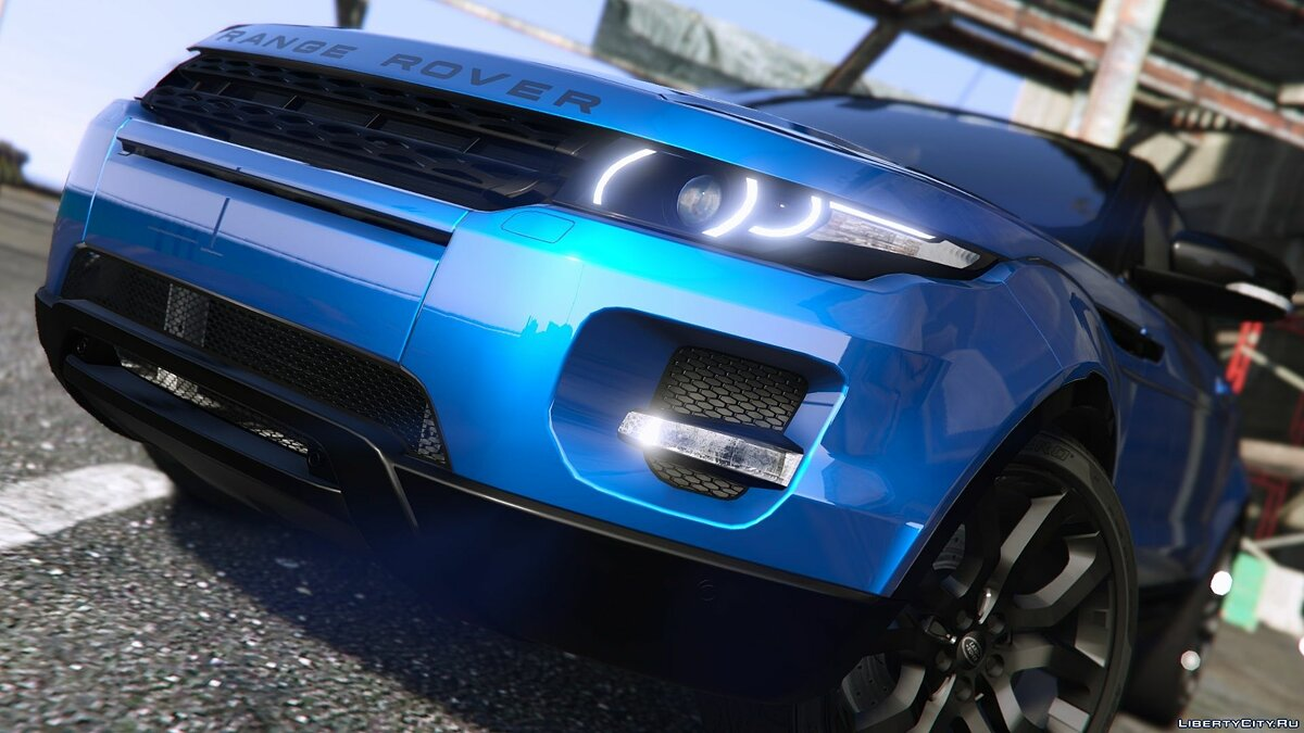 Машина Land Rover Range Rover Evoque [Add-On / Replace | Tuning | Template] 8.0 для GTA 5