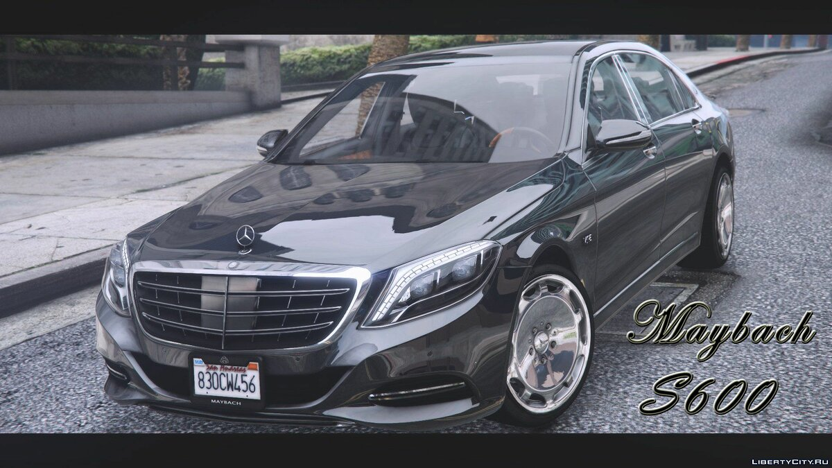 Машина Maybach Maybach S600 2016 [Replace] 1.0 для GTA 5