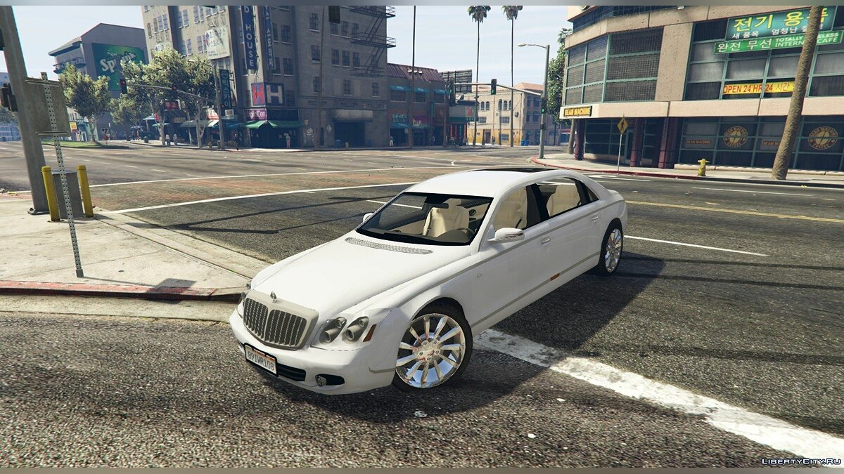 Машина Maybach 2009 Maybach 62 S [Add-On] 1.2 для GTA 5