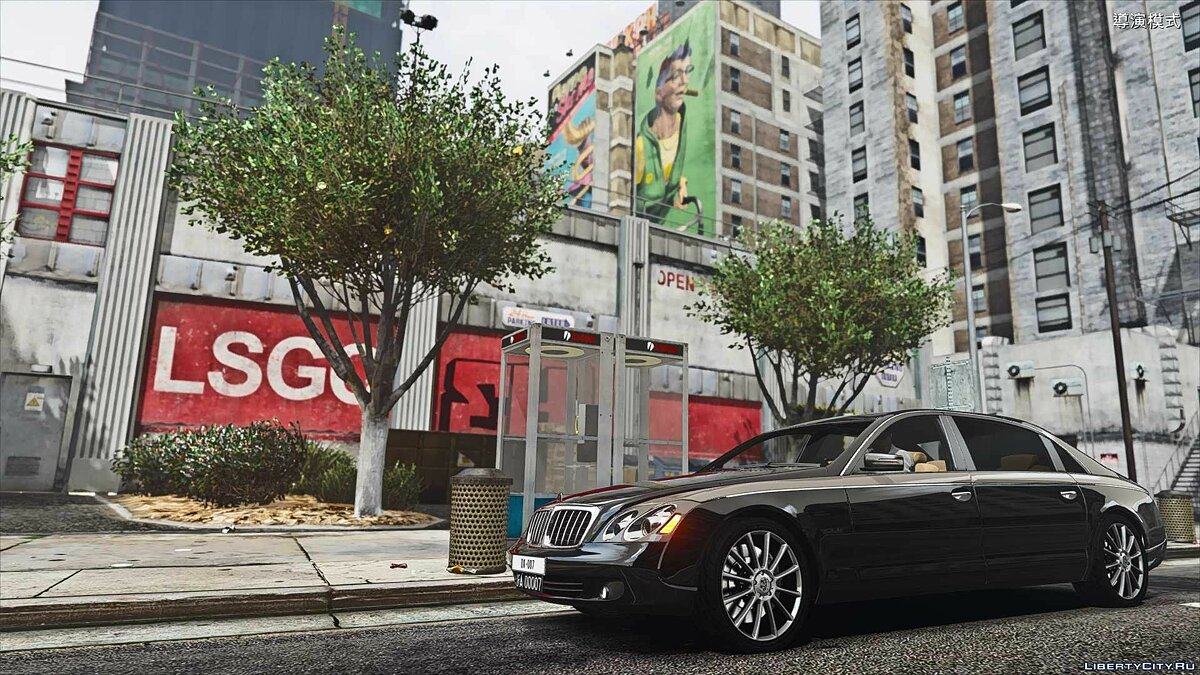 Машина Maybach Maybach 62S Zeppelin [ADDON and Replace] 1.0 для GTA 5