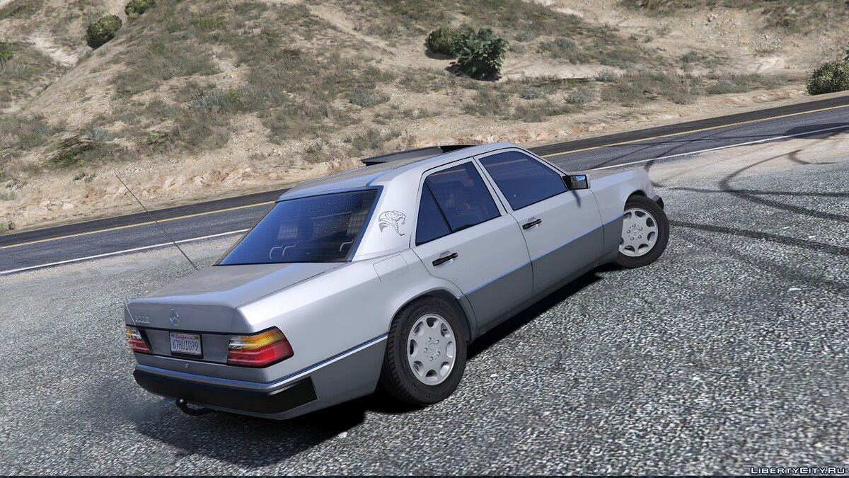 Машина Mercedes-Benz Mercedes-Benz W124 300D '+1992 [Add-On / Replace / Animated / Extras] для GTA 5