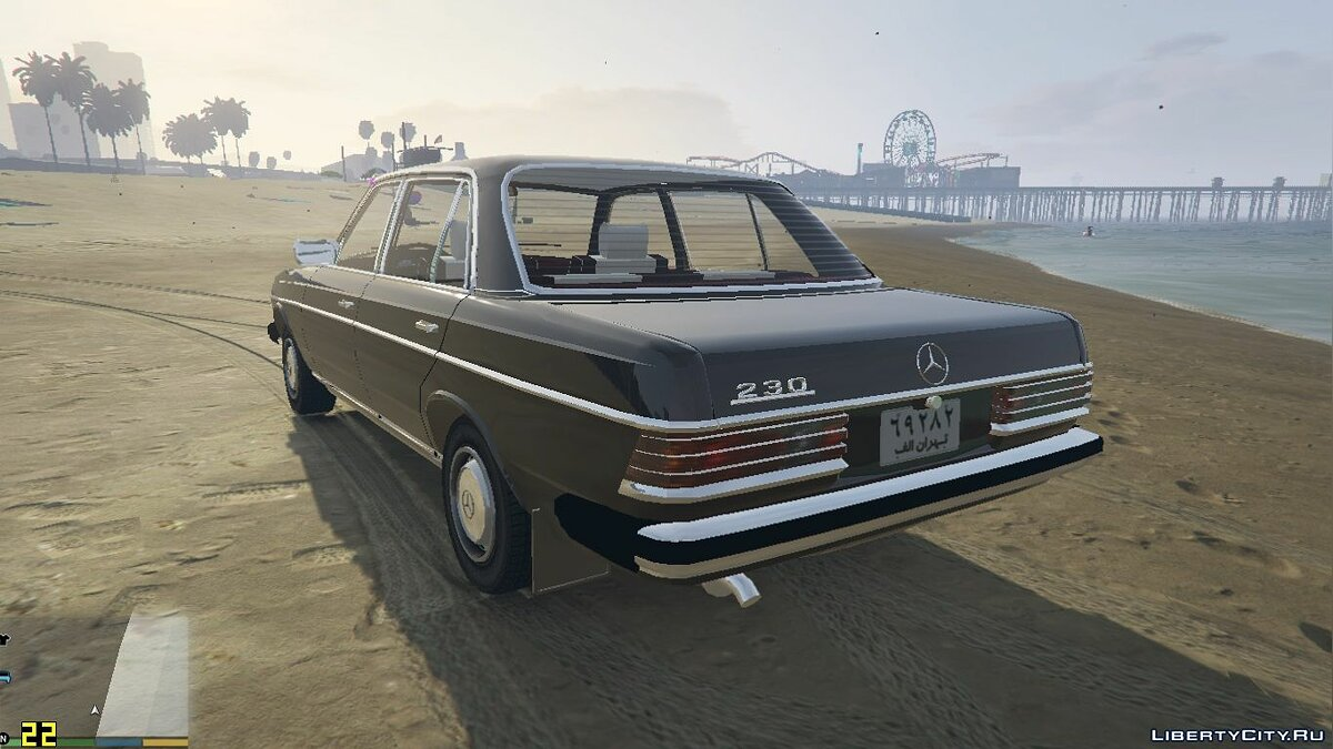 Машина Mercedes-Benz 1978 Mercedes-Benz 230 W123 [Add-On / Replace] 2.0.0 для GTA 5