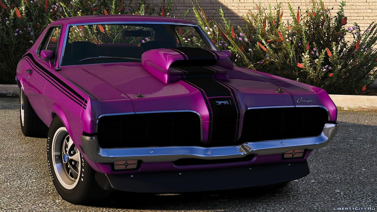 Машина Mercury 1970 Mercury Cougar Eliminator [Add-On] 1.0 для GTA 5