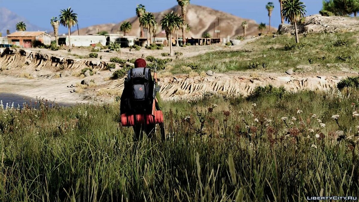 Мод Hiker Backpack For MP Players 1.1 для GTA 5