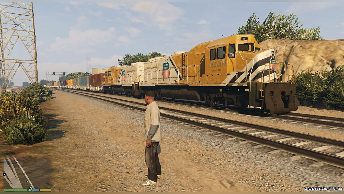 Improved freight train 1.1 для GTA 5 - Картинка #1