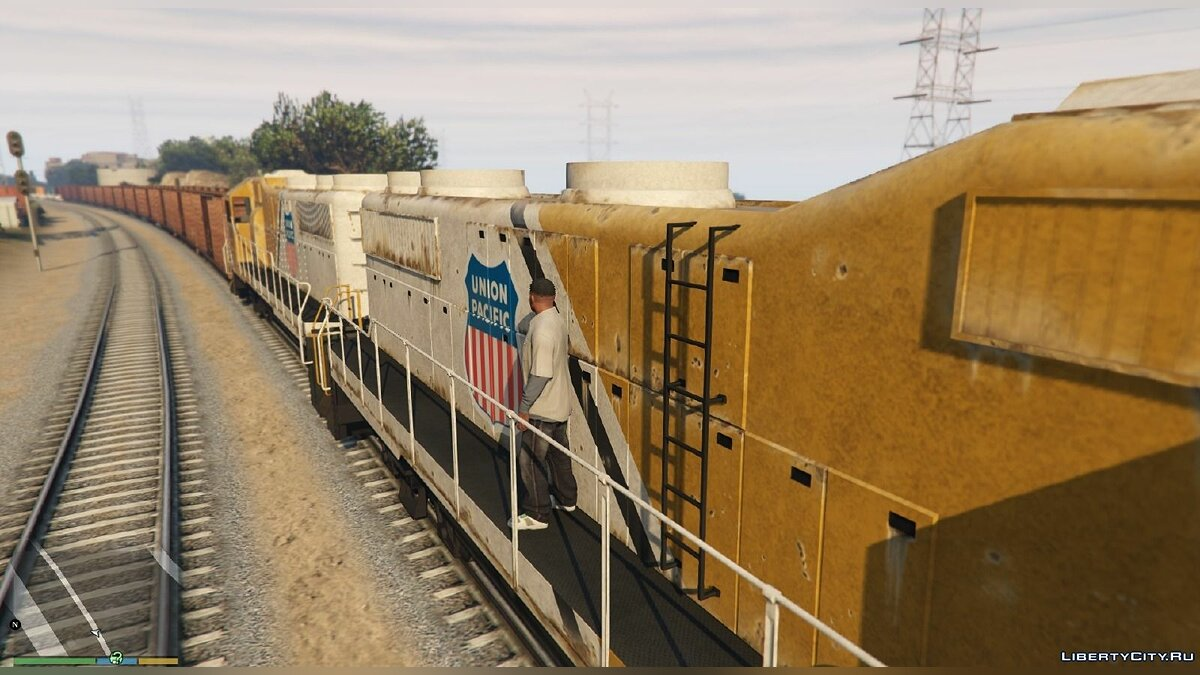 Improved freight train 1.1 для GTA 5 - Картинка #2