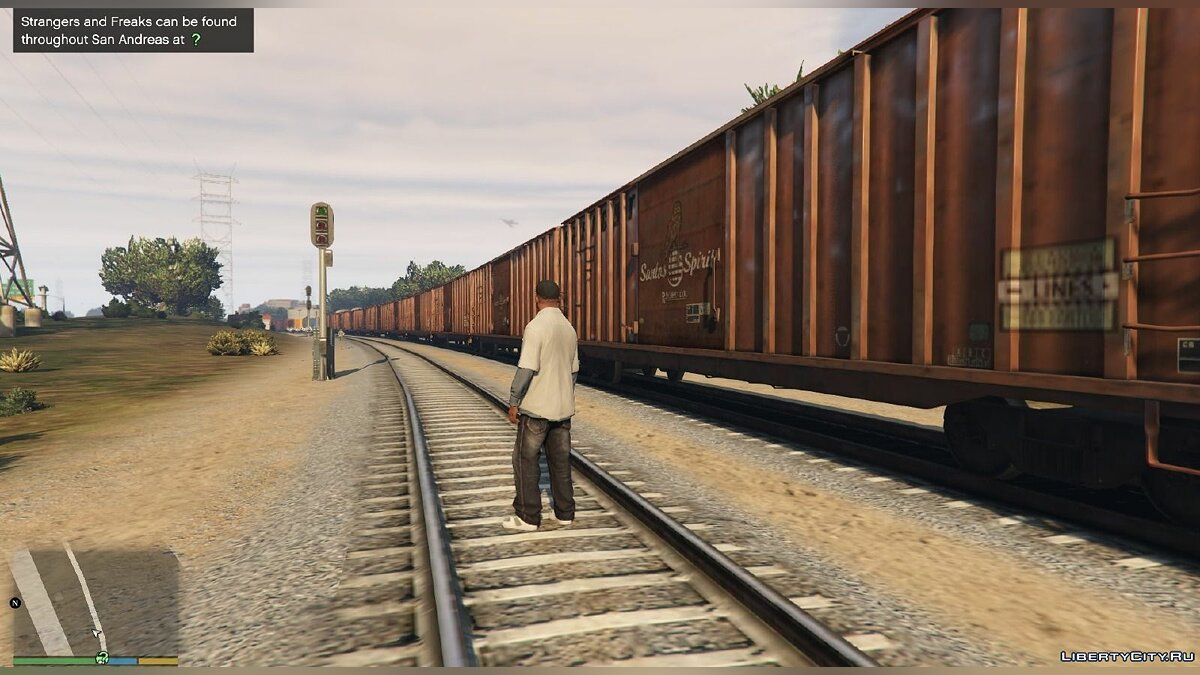 Improved freight train 1.1 для GTA 5 - Картинка #4