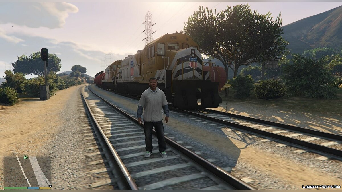 Improved freight train 1.1 для GTA 5 - Картинка #5