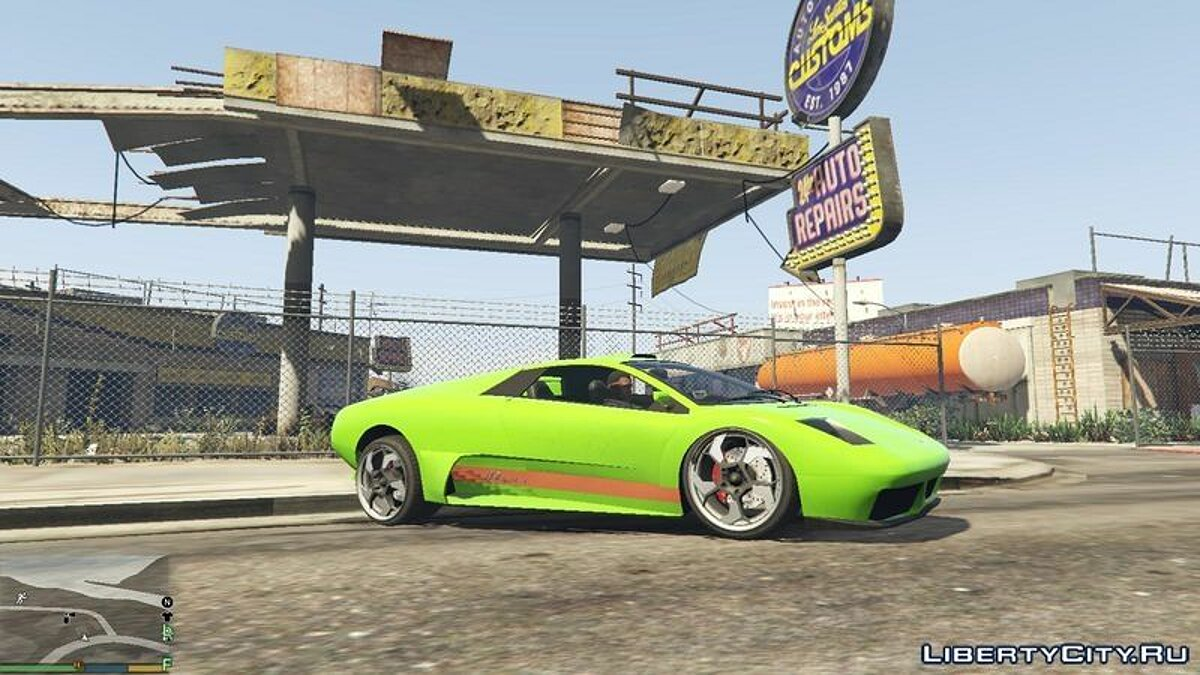 Blinking Vehicle Colors для GTA 5