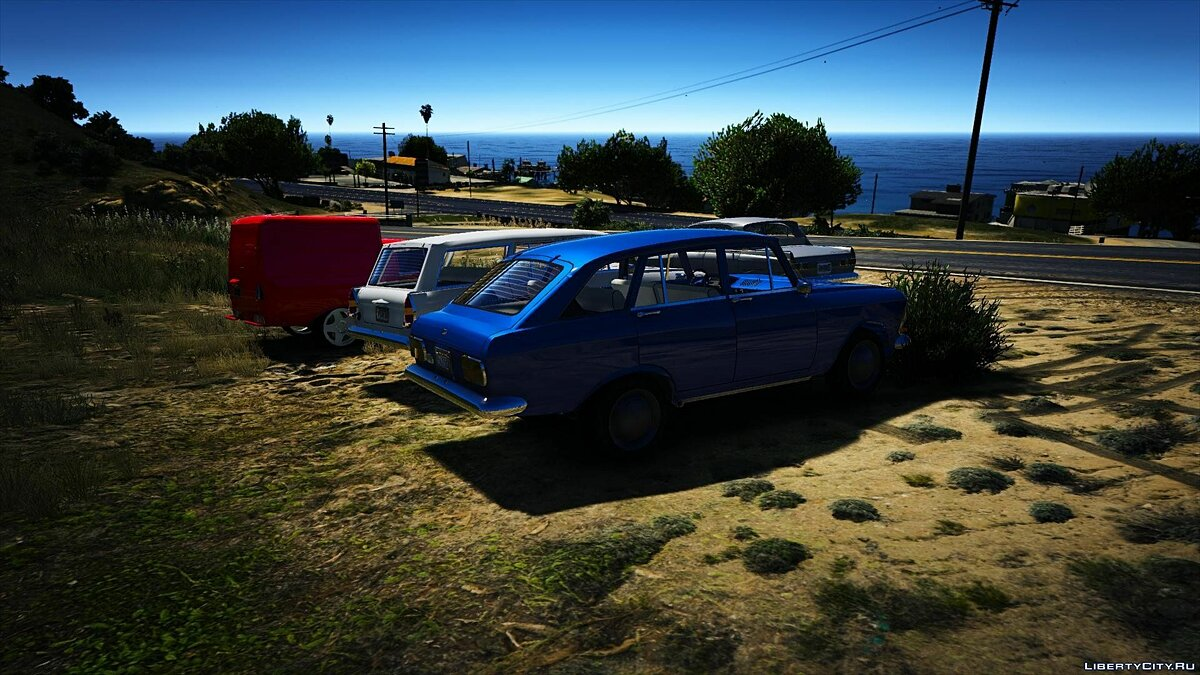 ��осквич IZH-408 by AKROM Add-ON 1.0 для GTA 5