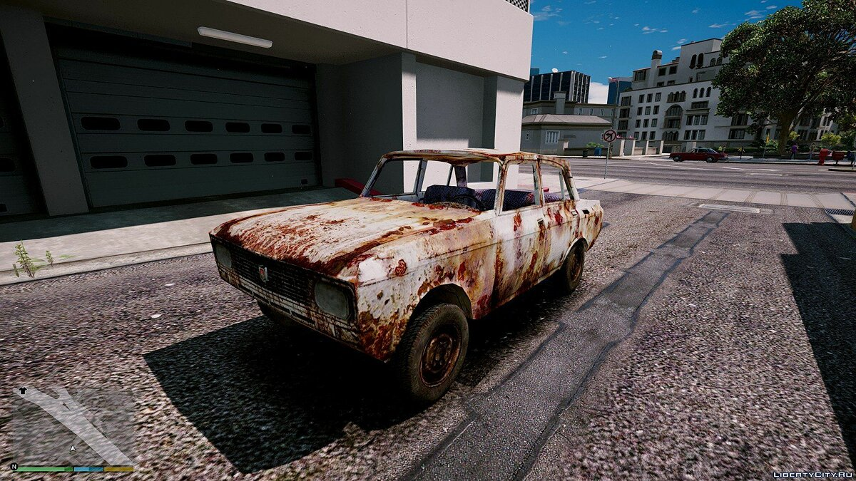 ��осквич Moskvitch Rusty [BETA] для GTA 5