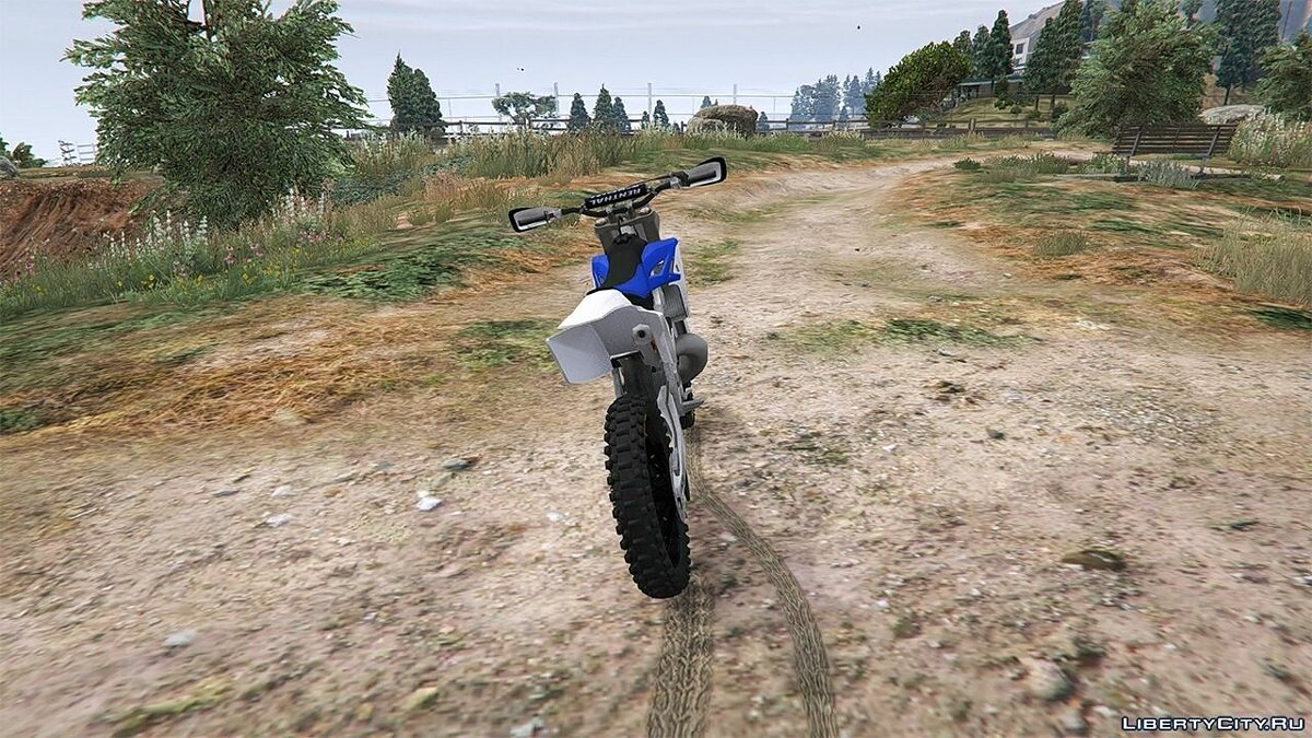Yamaha YZ 250 [BETA] для GTA 5 - Картинка #4
