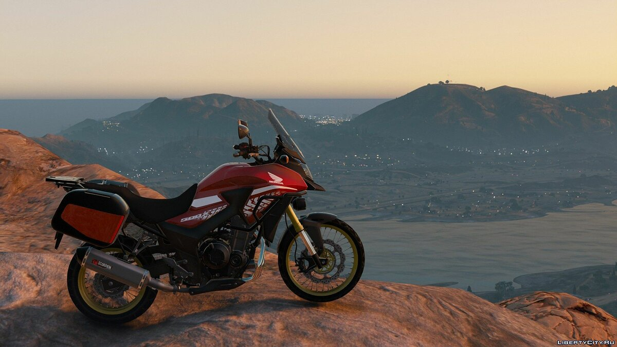 Машина 2018 Honda CB500X [Add-Ons | Tuning] V1.0 для GTA 5