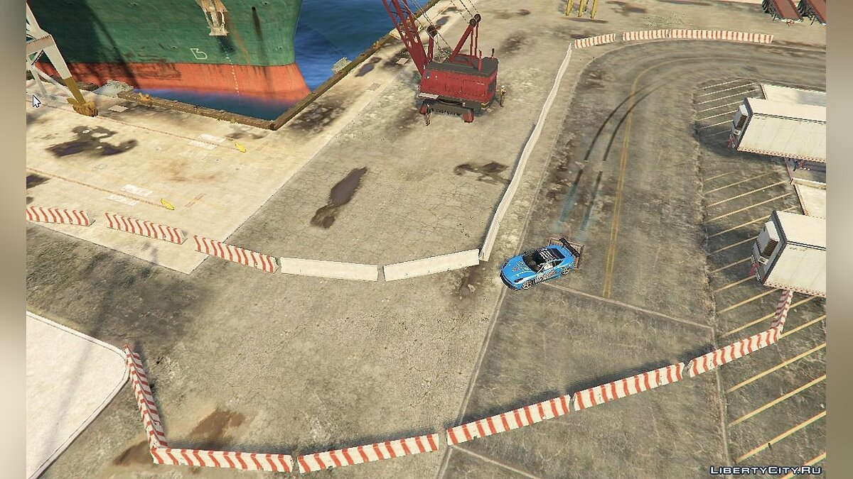 Docks Drift Layout 1.0 для GTA 5 - Картинка #4