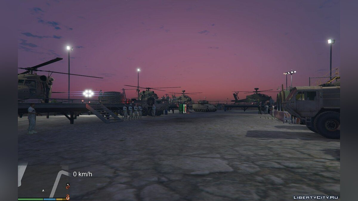 Новий об'єкт Rapid Deployment Joint Task Force [Add-On | YMAP] 1.0 для GTA 5