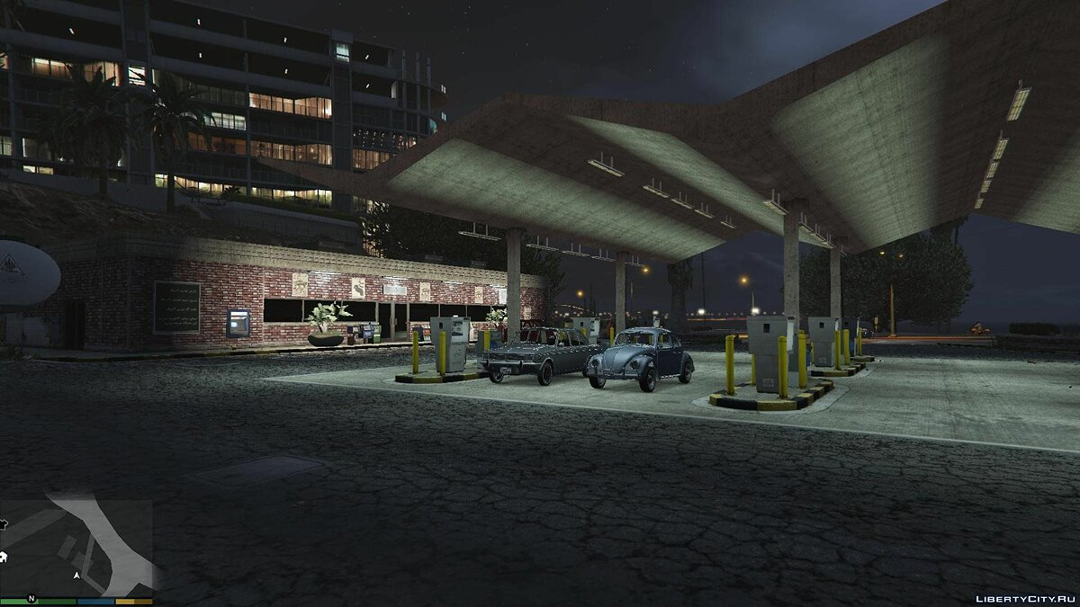 Новий об'єкт 1970 Persian Gas Station [Building + Texture + Fuel Pump] 1.0.0 для GTA 5