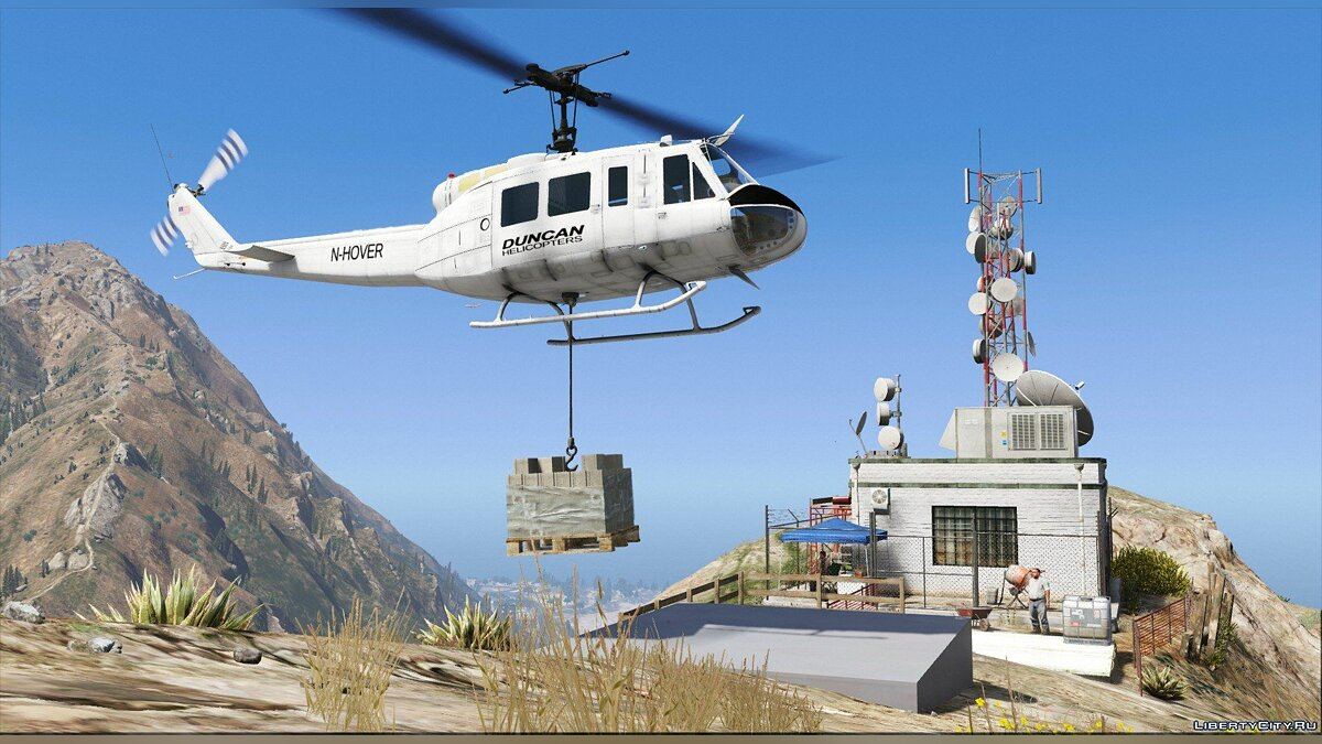 Новий об'єкт Maps for Helicopters 1.0 для GTA 5