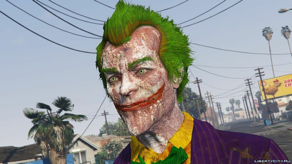 Новий персонаж BAK Joker Character Pack [Add-On Ped] 1.0 для GTA 5