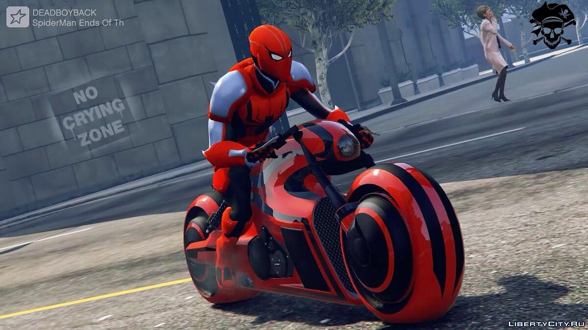 Новий персонаж Spider-Man [Ends Of The Earth Suit] [Add-On Ped] 1.0 для GTA 5