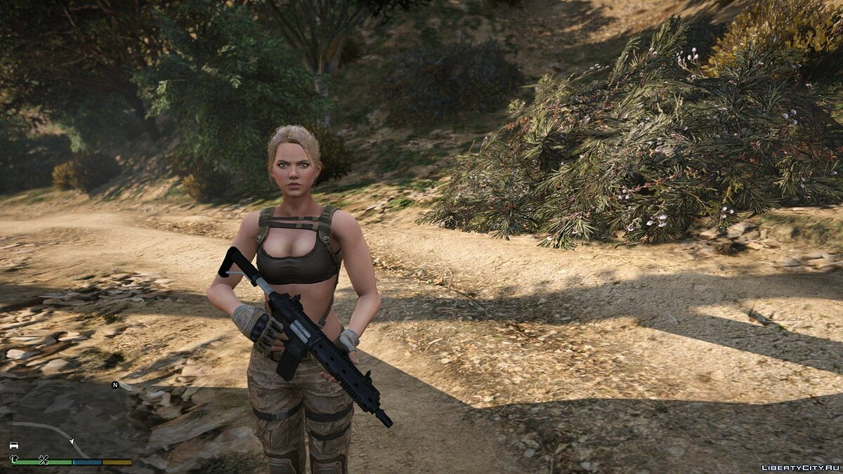Новий персонаж Leona from Sudden Attack 2 | [Add-On / Replace PED] 1.0 для GTA 5