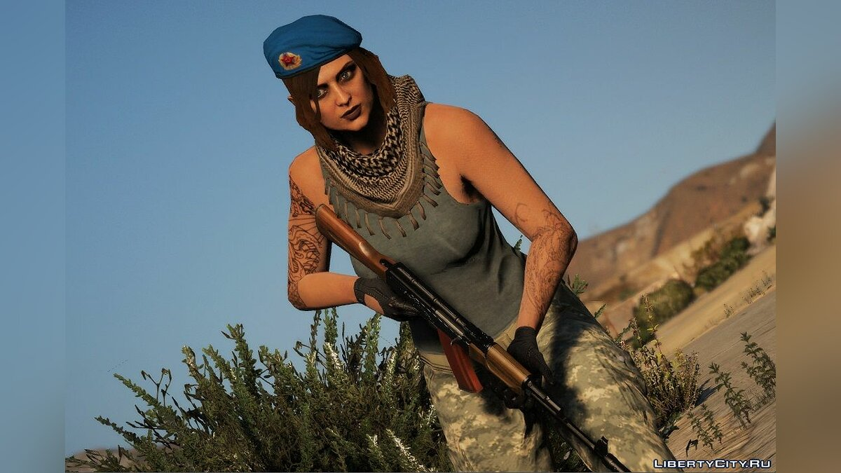 Новий персонаж ВДВ Soviet Beret For MP FemaleMale 1.0 для GTA 5