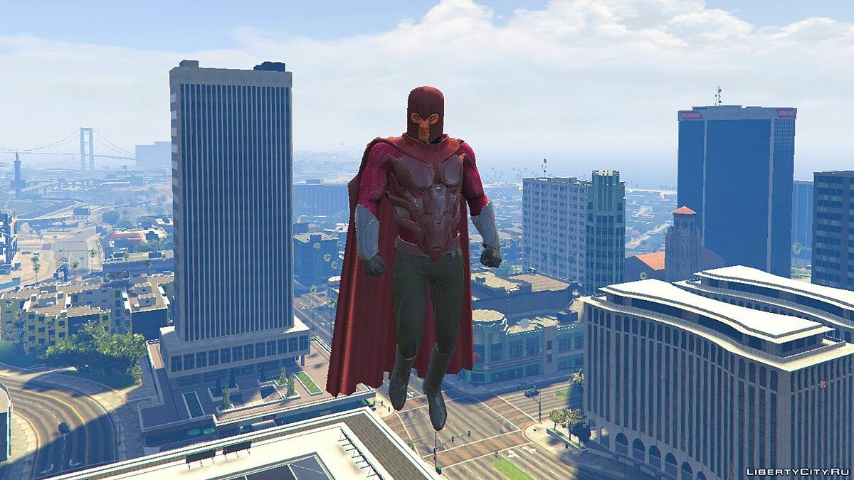 ��овий персонаж Magneto Days of Future Past [Add-On Ped] 1.0 для GTA 5