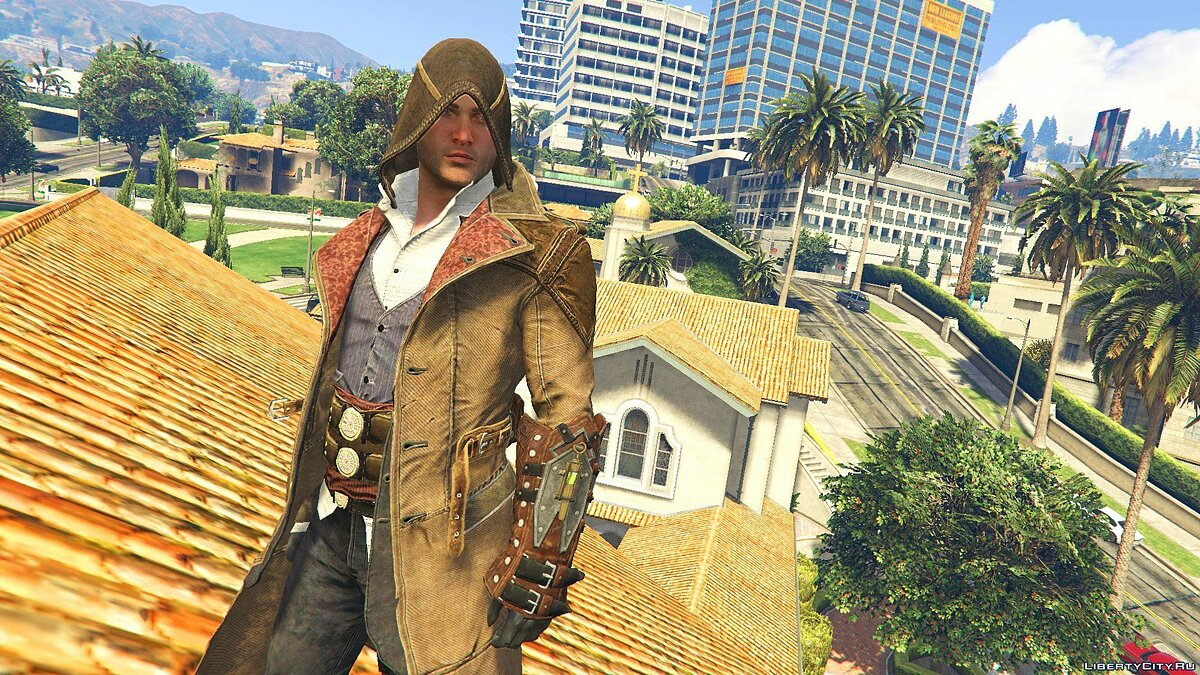 ��овий персонаж Jacob Gunslinger Outfit [Add-On Ped] 1.0 для GTA 5