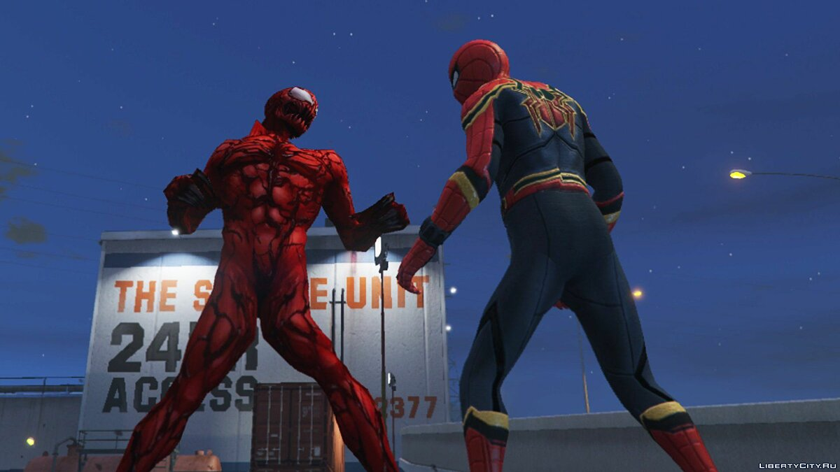 ��овий персонаж Carnage (Marvel Future Fight) [ADD-ON] 2.0 для GTA 5