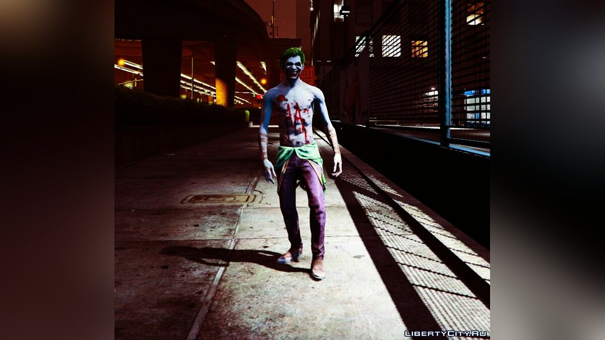 ��овий персонаж Joker from Injustice 2 [Add-On Ped] 1.0 для GTA 5