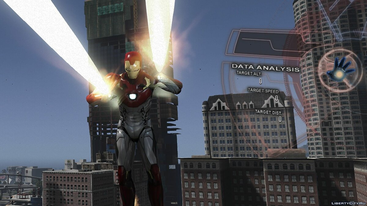 ��овий персонаж Iron Man Mark 47 (Spider-man Home Coming) [Add-On Ped] 1.3 для GTA 5
