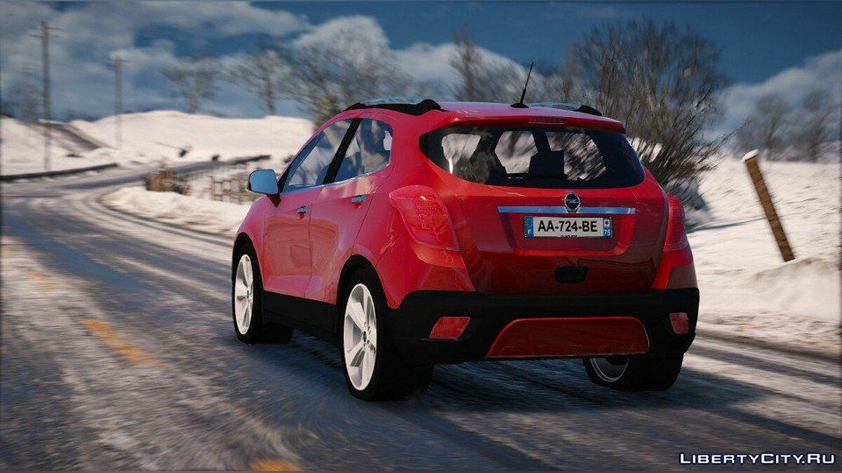 Машина OPEL Opel Mokka (Add-on) 1.0 для GTA 5