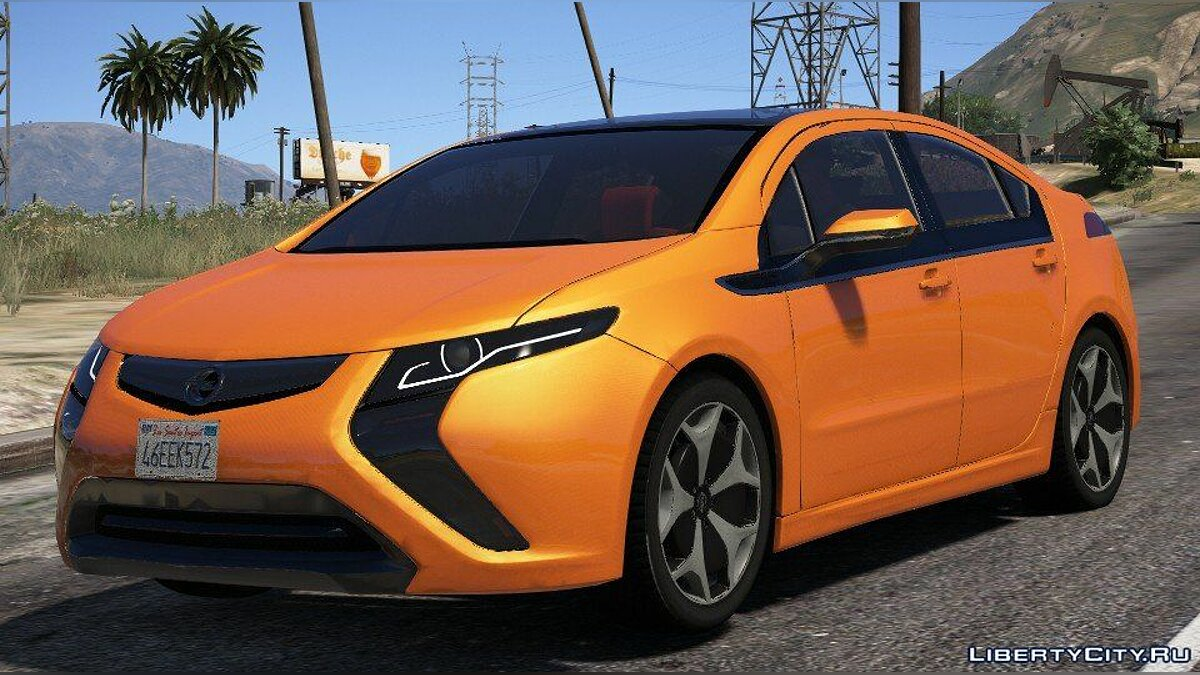 Машина OPEL Opel Ampera (Add-on / Replace) 1.0 для GTA 5