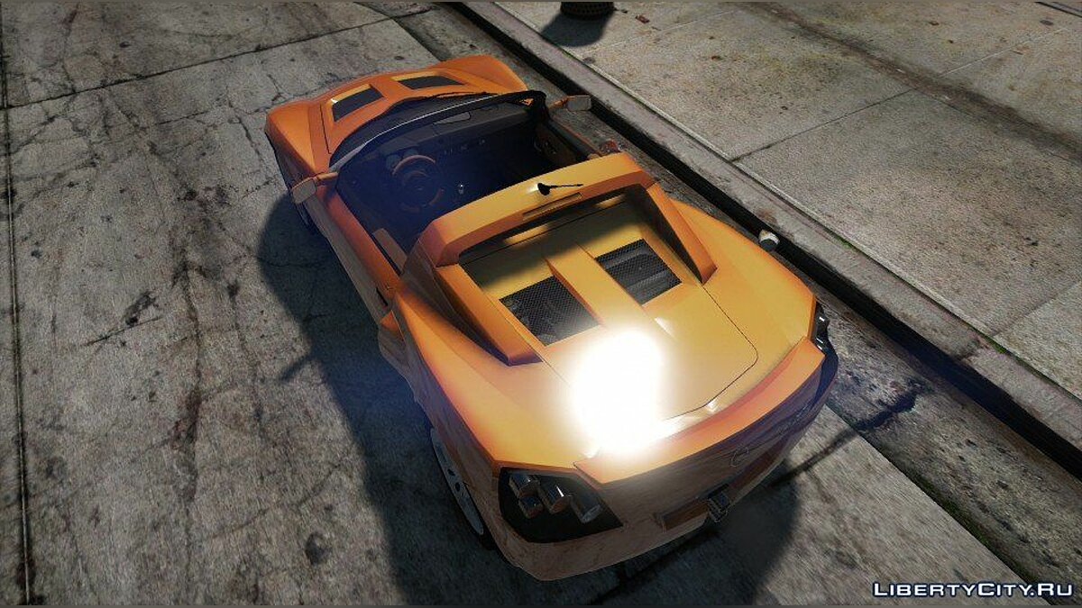 Машина OPEL Opel Speedster Turbo (Add-on / Replace / Extra / Auto Spoiler) 1.0 для GTA 5