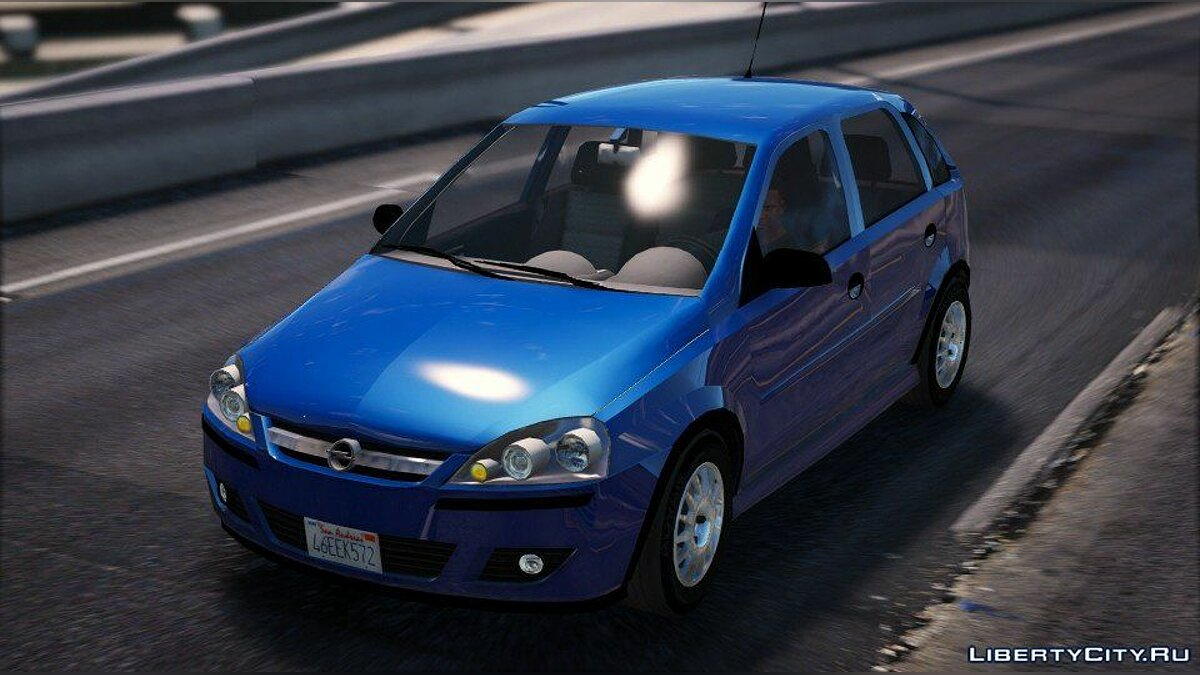 Машина OPEL Opel Corsa 2005 (REPLACE / ADD-ON) 1.2 для GTA 5