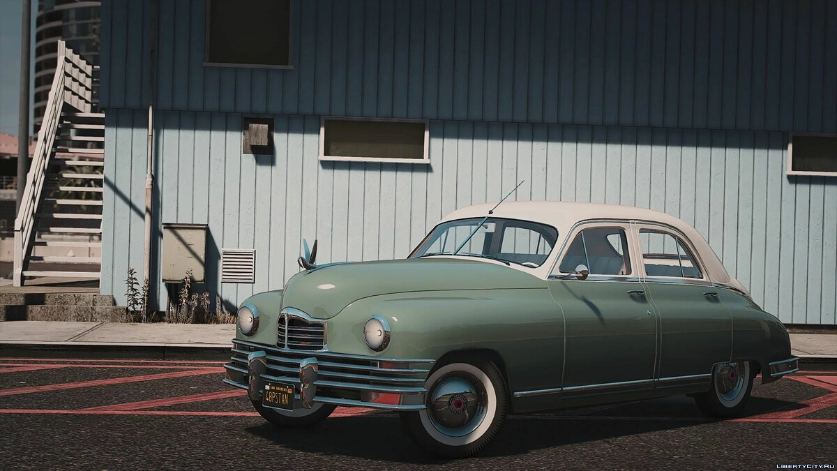 1948 Packard Standard Eight [Add-On | LODs | Extras] 1.0 для GTA 5 - Картинка #1