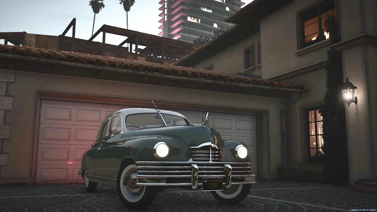1948 Packard Standard Eight [Add-On | LODs | Extras] 1.0 для GTA 5 - Картинка #2