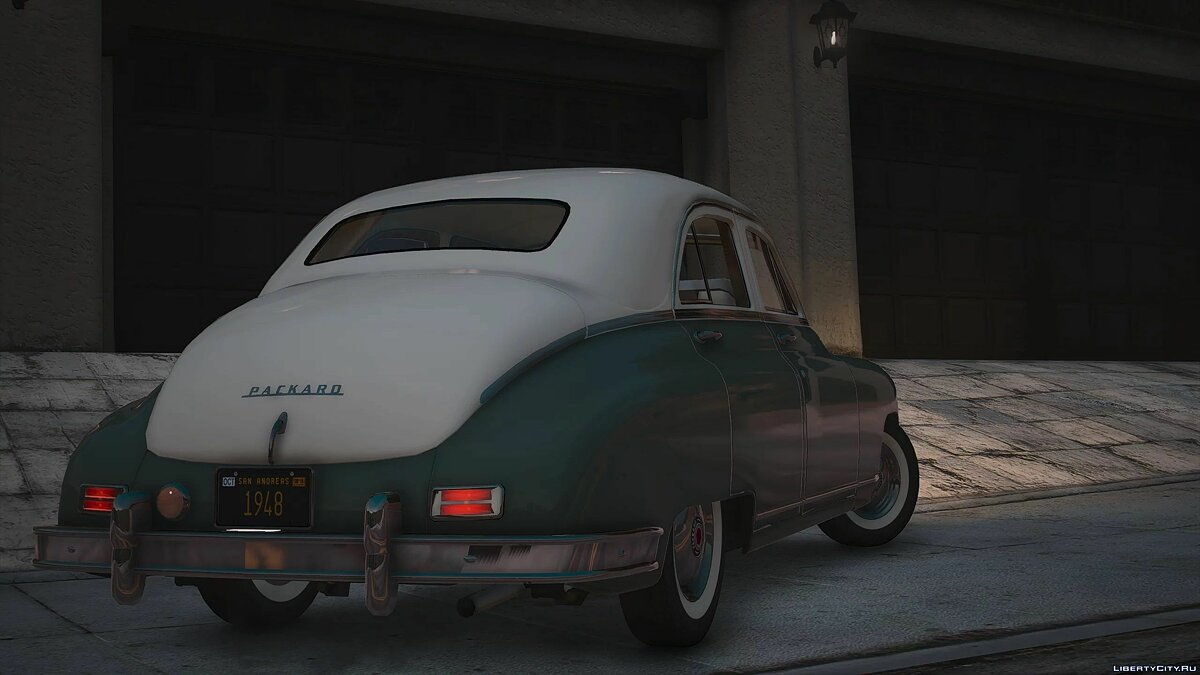 1948 Packard Standard Eight [Add-On | LODs | Extras] 1.0 для GTA 5 - Картинка #3