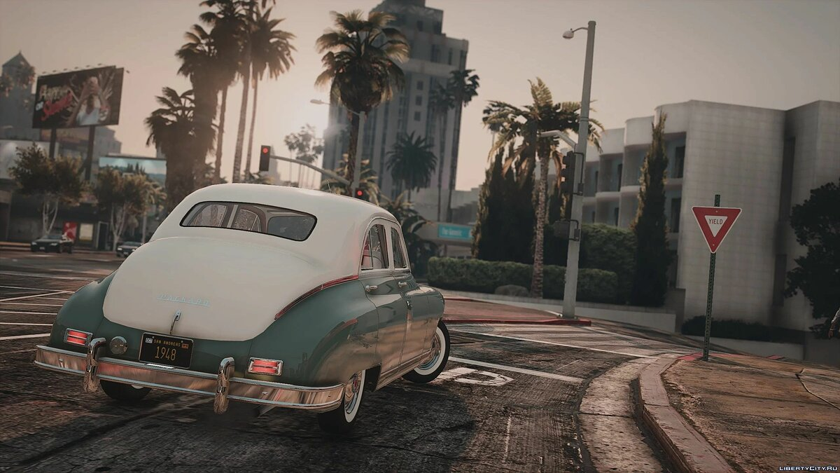 1948 Packard Standard Eight [Add-On | LODs | Extras] 1.0 для GTA 5 - Картинка #5