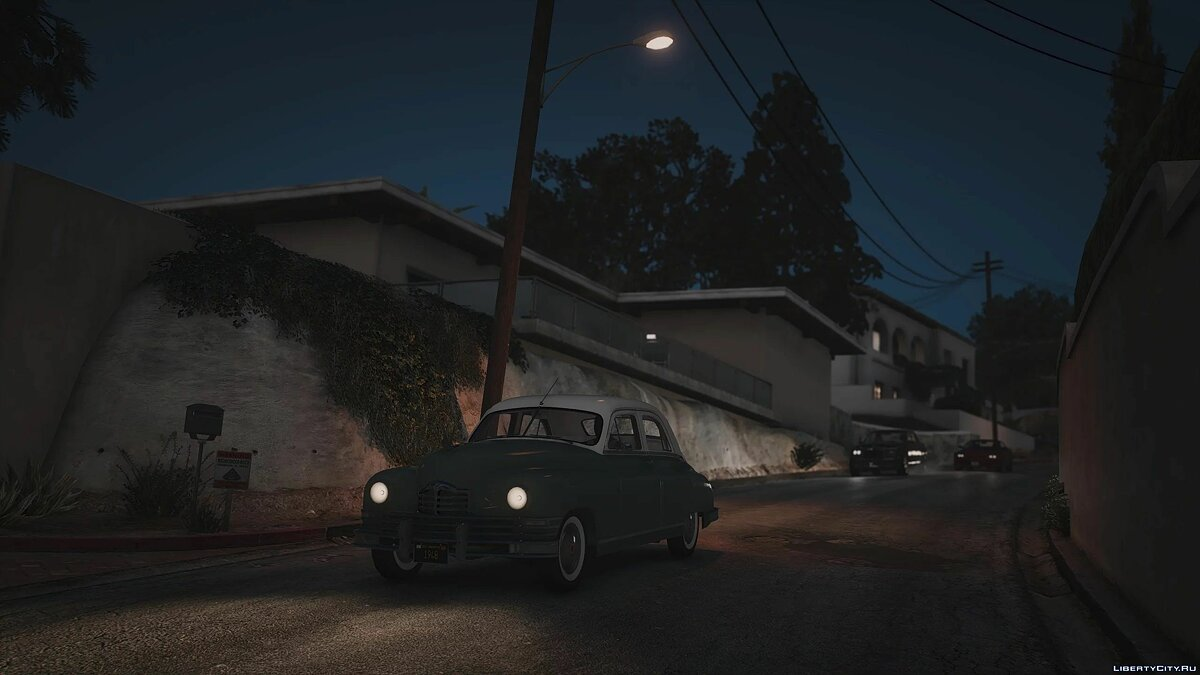 1948 Packard Standard Eight [Add-On | LODs | Extras] 1.0 для GTA 5 - Картинка #6