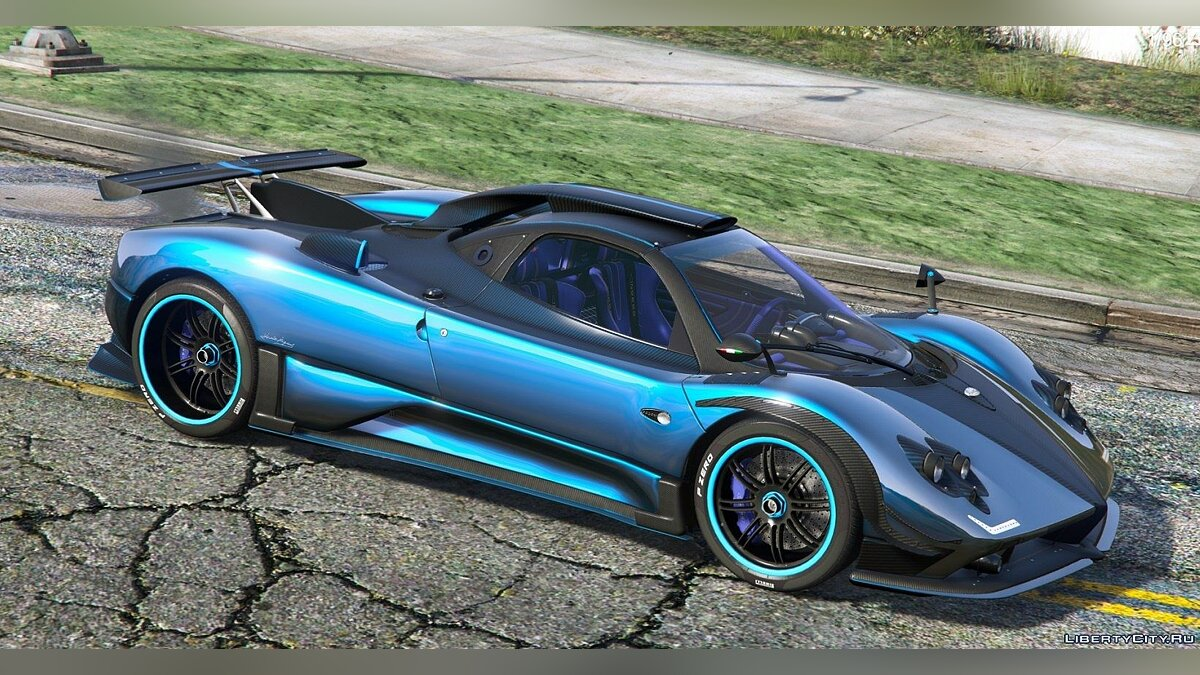 Машина Pagani 2009 Pagani Zonda Cinque Roadster (Customized) [Add-On | Wipers] 1.1 для GTA 5